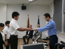 帝京科学大学防犯ボランティアを結成しました。