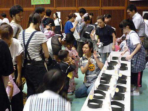 帝京科学大学 市内保育所「夏祭り」に園行事体験活動として参加 #02