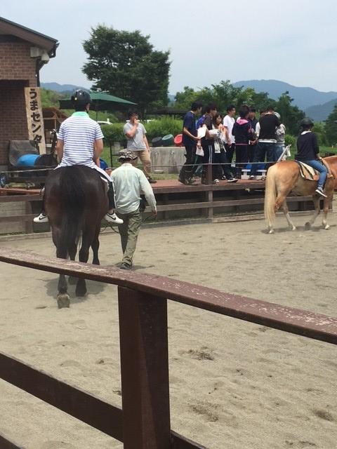 帝京科学大学 乗馬活動体験を実施しました #01