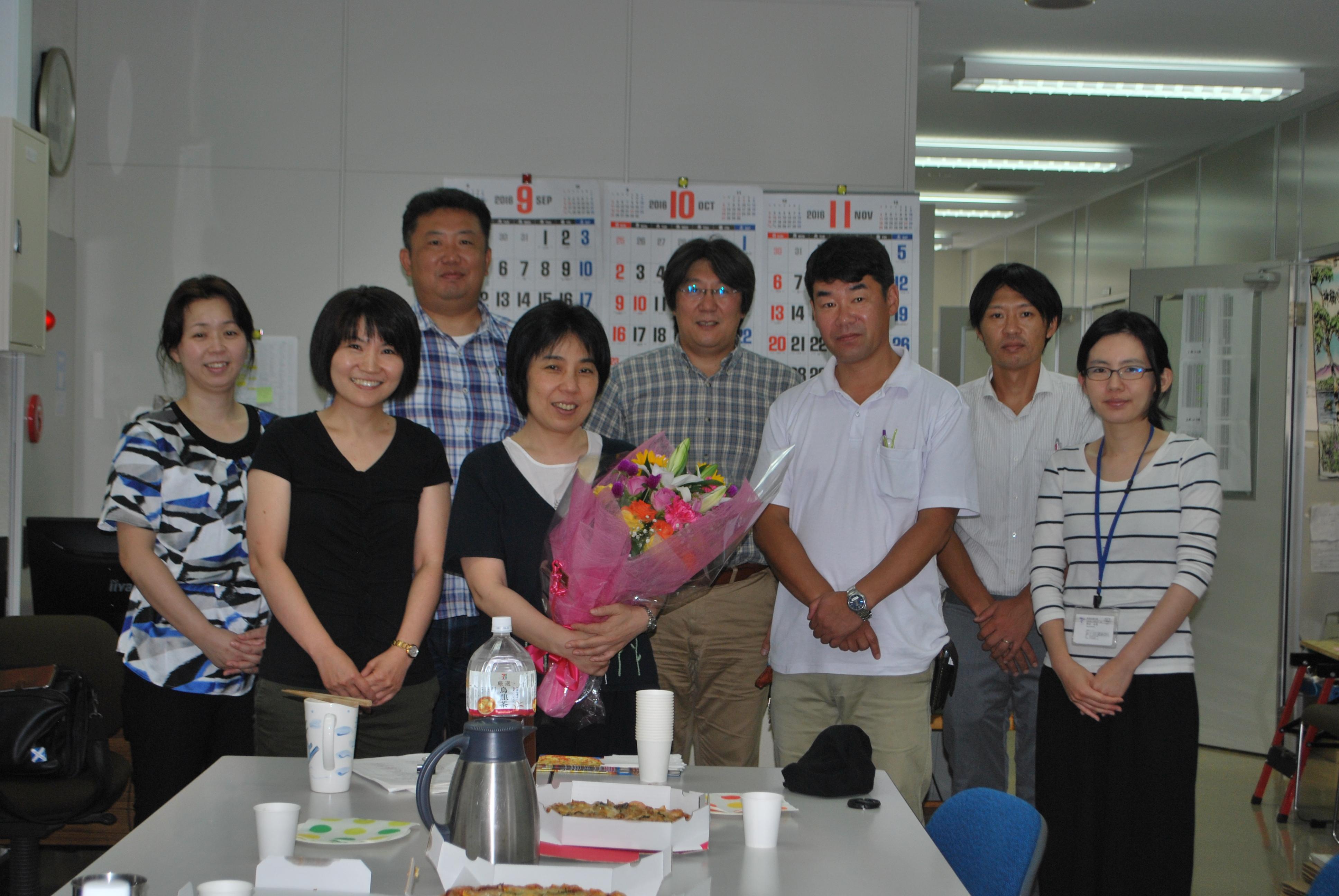 帝京科学大学 近藤先生退職 #00