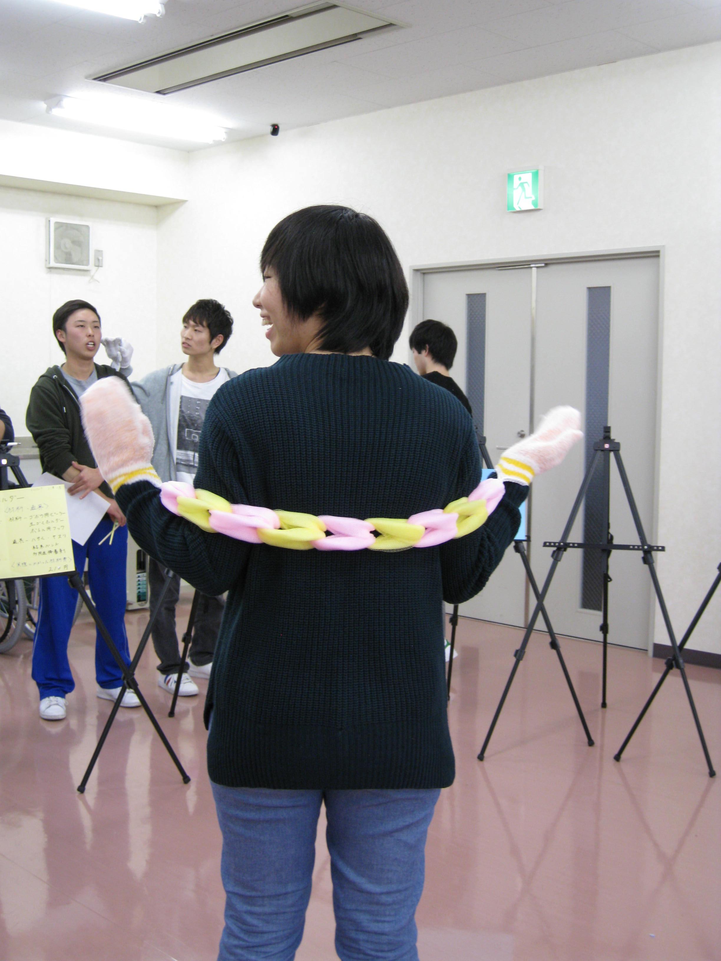 帝京科学大学 自助具発表会 #03