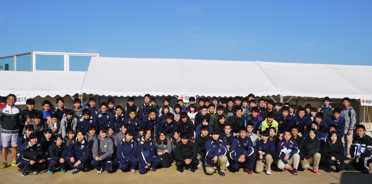 帝京科学大学 「タートルマラソン国際大会in足立」に救護&託児所スタッフとして 参加しました! #03