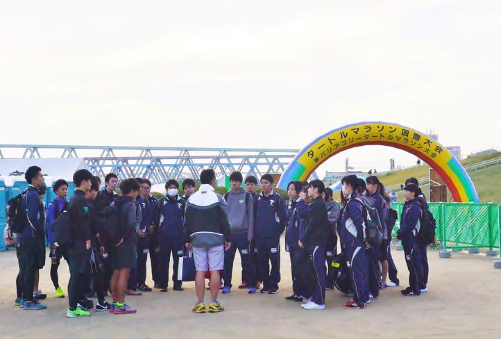 帝京科学大学 「タートルマラソン国際大会in足立」に救護&託児所スタッフとして 参加しました! #04