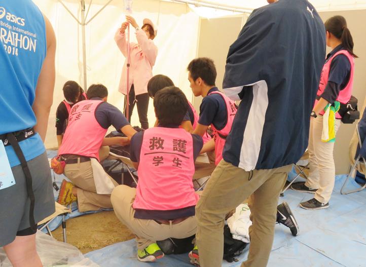 帝京科学大学 「タートルマラソン国際大会in足立」に救護&託児所スタッフとして 参加しました! #05