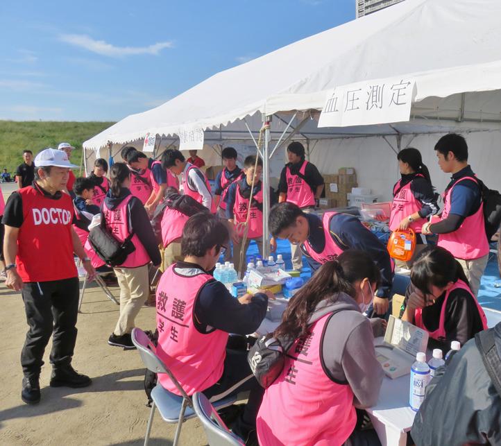 帝京科学大学 「タートルマラソン国際大会in足立」に救護&託児所スタッフとして 参加しました! #06