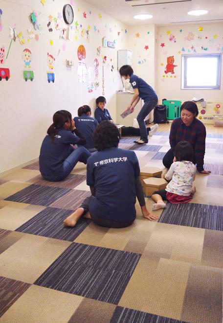 帝京科学大学 「タートルマラソン国際大会in足立」に救護&託児所スタッフとして 参加しました! #11