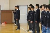 剣道部・ゴルフ部の壮行会を行いました